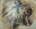 Dancer Adjusting Her Shoe - Edgar Degas - Google Cultural Institute.jpg