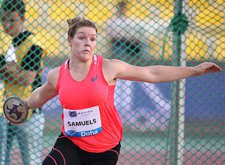 Dani Stevens Australian discus thrower