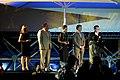Daniel Craig e Olivia Wilde alla premiazione di Harrison Ford al Pardo (6017208149).jpg