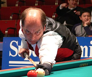 Dani Sánchez Spanish billiards player