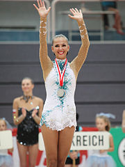 Description de l'image  Daria Dmitrieva Grand Prix Austria 2012.JPG.