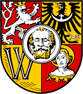 Coat of arms of Wrocław - 1530-1938 (traditional)