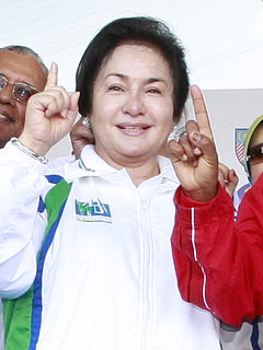 Rosmah Mansor wife of the Prime Minister of Malaysia