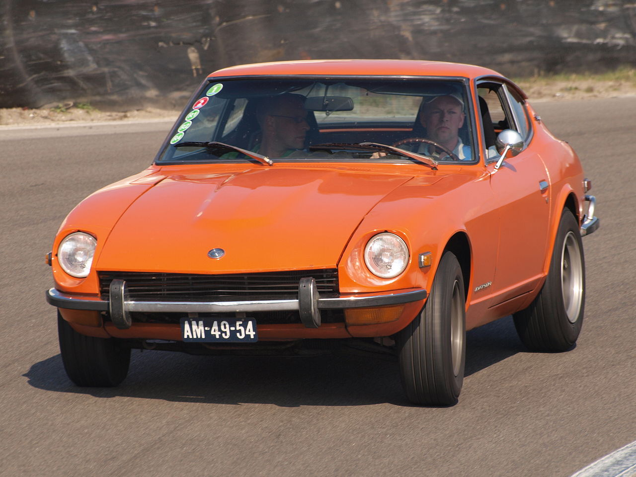 File:Datsun 240 Z Sport dutch licence registration AM-49 ...