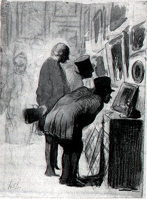 International Museum Day - Image: Daumier galerie tableaux