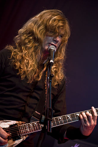 Dave Mustaine - Image: Dave Mustaine at Priest Fest