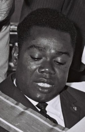Saint-Sylvestre coup d'état - President David Dacko
