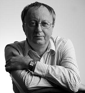 David Hewson British author of mystery novels