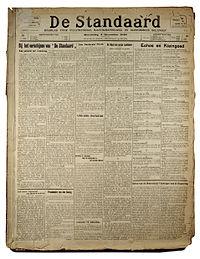 De Standaard 1918.jpg