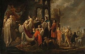 The idolatry of King Salomon