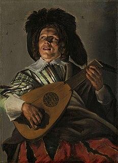 <i>Serenade</i> (Leyster) painting by Judith Leyster