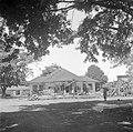 De verwoeste woning van de regent in Bandoeng, Bestanddeelnr 255-8403.jpg