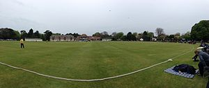 Dean Park Cricket Ground - Image: Dean Park Panorama