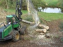 Abatteuse wikip dia - Machine a couper le bois ...