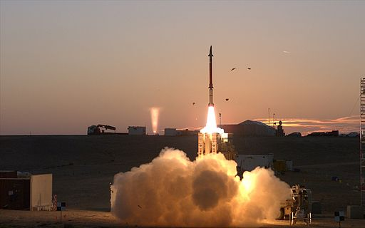 Dec., 2015 - David's Sling Weapons System Stunner Missile successfully completed a series of tests (1)