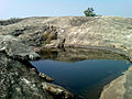 Deep Cistern on hilltop of Bodhikonda.jpg