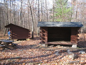 Washington Township, Franklin County, Pennsylvania - The Deer Lick Shelters on the Appalachian Trail in Washington Township