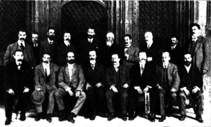 Commonwealth of Catalonia - Promoters of the Commonwealth of Catalonia project in 1911