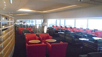 Airport lounge - Delta Sky Club Lounge at the Narita International Airport Japan