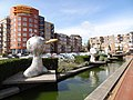Den Helder - Sculptuur 'Vijf manieren om je mond te roeren' van Jerome Symons voor De Kampanje op het Bernhardplein.JPG