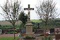 Denkmalliste Rheinland-Pfalz, Gemeinde Knopp-Labach Friedhofskreuz.jpg