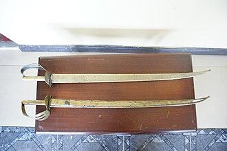 Akrafena - Image: Denkyira Kingdom Artifact Brass Sword