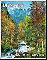 Denver travel poster, Jack Laycox artist c. 1977 (35421874893).jpg