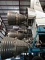 Detail of Saturn V Rocket Engine - Johnson Space Center - Houston - Texas - USA - 02 (20362370506).jpg