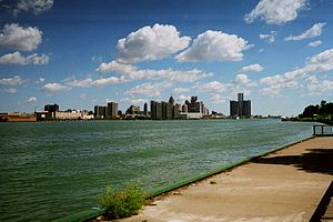 MY photo from Windsor near Ambassador Bridge l...