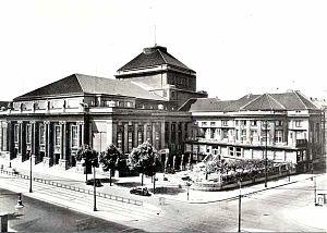 Deutsche Oper Berlin - Deutsches Opernhaus, 1912