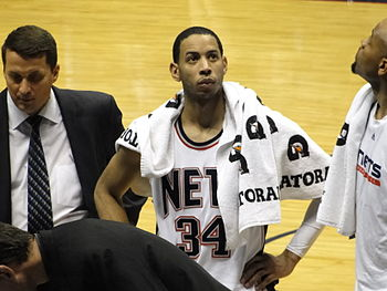 Devin Harris of the New Jersey Nets in 2009
