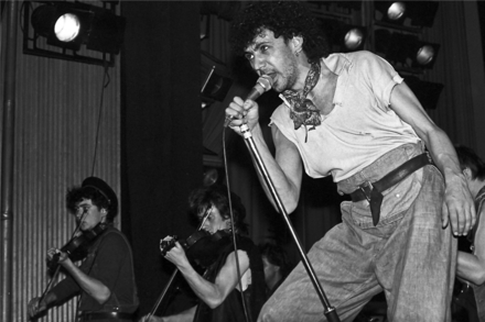 Dexys Midnight Runners in Zurich in 1982. Photograph by Ueli Frey. Dexys Midnight Runners (1982).png