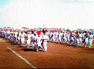Folk dances of Punjab - Dhamaal Dance