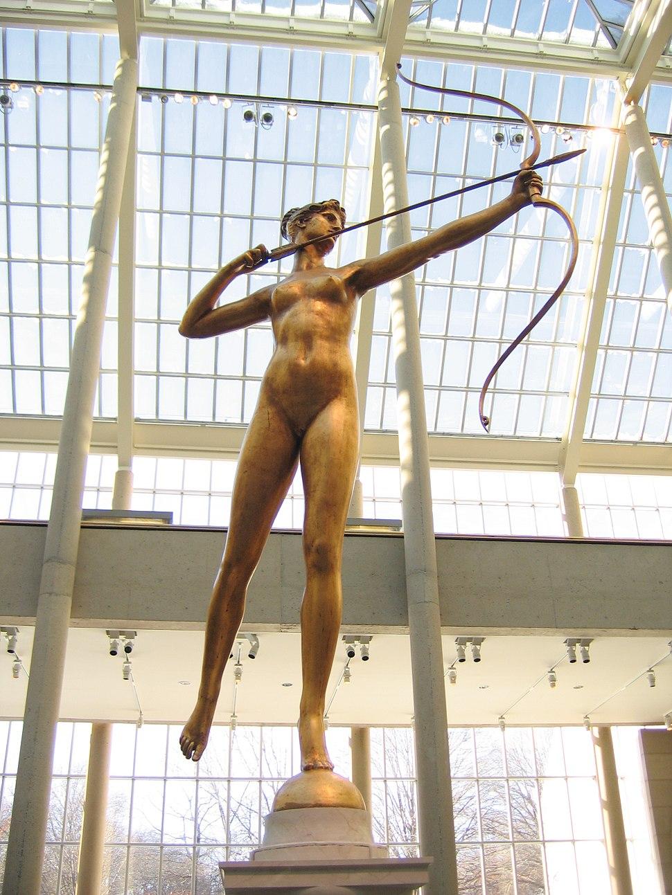 Diana by Augustus Saint-Gaudens 01