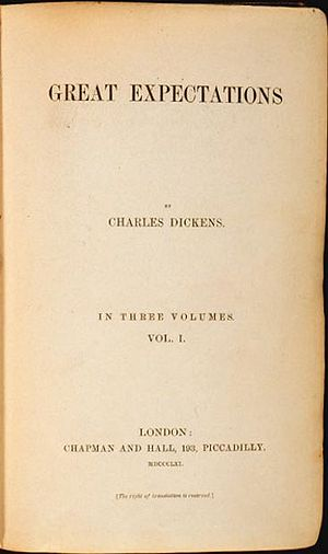 title page of the first edition book of Great ...