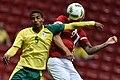 Dinamarca x África do Sul - Futebol masculino - Olimpíadas Rio 2016 (28803642226).jpg