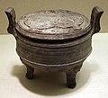 Dinastia han occidentale, calderone tripode (ding), 206 ac-9 dc ca.jpg