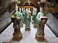 Dinastia ming, corteo funerario in ceramica sancai, 1368-1644 ca. 02.JPG