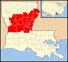 Roman Catholic Diocese Of Alexandria In Louisiana Wikipedia - Louisiana map alexandria