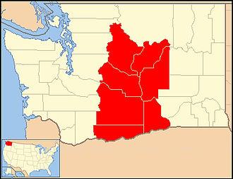 Roman Catholic Diocese of Yakima - Image: Diocese of Yakima