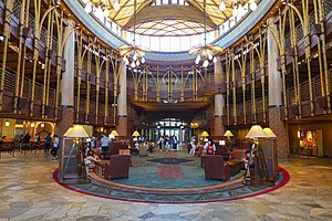 Disney Explorers Lodge - Hotel Lobby