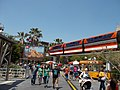 Disneyland Monorail Bear Left 2013.JPG