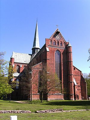 Doberan Abbey - Doberan Minster, west front