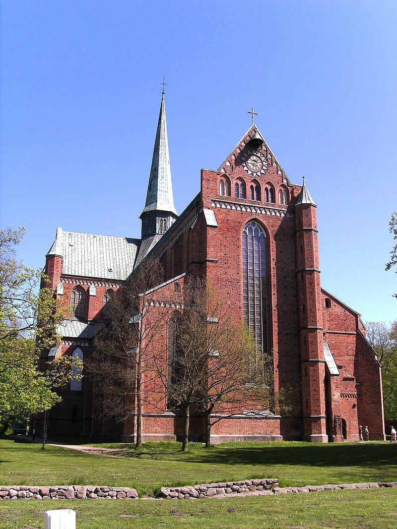 Kościół pocysterski w Bad Doberan – fasada zachodnia