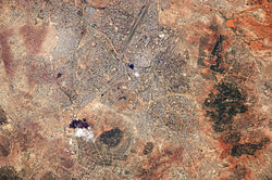 Astronaut Photo of Dodoma, Tanzania taken from the International Space Station (ISS) during Expedition 22 on December 19, 2009.