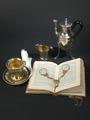 """Dokumentation, utställningen """"Silver och smycken till vardag och fest"""" år 2006 - Hallwylska museet - 85819.tif"""