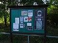 Dolní Černošice, Nad jezem, vývěsní tabule u parkoviště.jpg