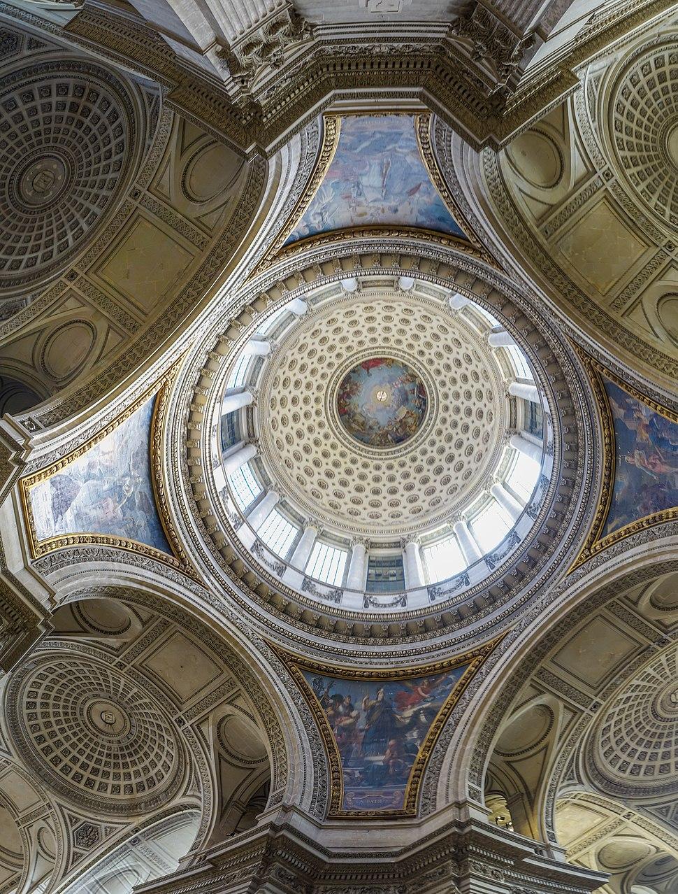 Dome, Panthéon, Paris, France