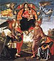 Domenico ghirlandaio, Madonna in Glory with Saints, munich.jpg