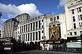 Dominion Theatre in London with Freddie Mercury statue in spring 2013 (1).JPG